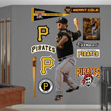 MLB Pittsburgh Pirates Gerrit Cole Wall Decal Wall Decal