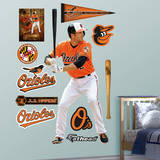 MLB Baltimore Orioles J.J. Hardy Wall Decal Wall Decal