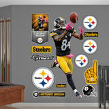 NFL Pittsburgh Steelers Antonio Brown Wall Decal Vinilo decorativo