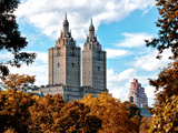 The San Remo Building in the Fall, Central Park, Manhattan, New York, United States Photographic Print by Philippe Hugonnard