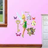 Tinker Bell Fathead Jr. Wall Decal Wallstickers