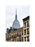 Architecture and Buildings, Empire State Building, Midtown Manhattan, NYC, White Frame Photographic Print by Philippe Hugonnard