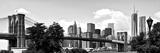 Panoramic Skyline of Manhattan, Brooklyn Bridge and One World Trade Center, NYC Photographic Print by Philippe Hugonnard