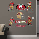NFL San Francisco 49ers San Francisco 49ers 2013 Power Pack Wall Decal Wall Decal