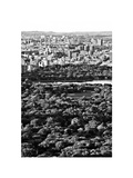 For a Baseball Field in Central Parc at Sunset, Manhattan, NYC, White Frame, Full Size Photography Photographic Print by Philippe Hugonnard