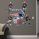 NFL New England Patriots New England Patriots 2013 Power Pack Wall Decal Wall Decal