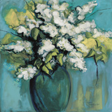 White Lilac Waltz Art by Joyce Fournier