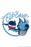 CupCave Snorg Tees Plastic Sign Plastic Sign by  Snorg