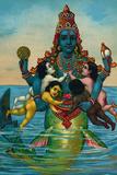 Matsya Avatar of Vishnu Plastic Sign Znaki plastikowe