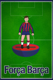 Forca Barca Football Soccer Sports Plastic Sign Plastic Sign