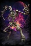 Cyclops Skeleton by Tom Wood Plastic Sign Plastic Sign by Tom Wood
