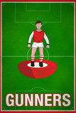 Gunners Football Soccer Sports Plastic Sign Plastic Sign