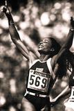 Florence Griffith-Joyner 1988 Olympics Sports Plastic Sign Plastikskilte