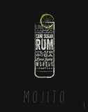 Mojito Posters by Stephen Fowler