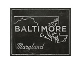 Baltimore, Maryland Prints by John Golden