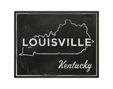 Louisville, Kentucky Art by John Golden