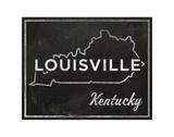 Louisville, Kentucky Art by John W. Golden