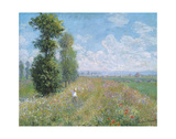 Meadow with Poplars, about 1875 Prints by Claude Monet