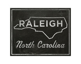 Raleigh, North Carolina Prints by John Golden