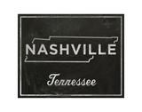 Nashville, Tennessee Posters by John W. Golden