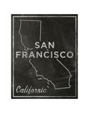 San Francisco, California Art by John W. Golden