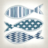 Fish Patterns I Prints by Tandi Venter