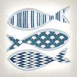 Fish Patterns I Prints by Tandi Venter
