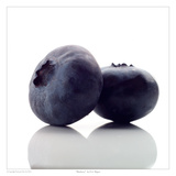 Blueberry Prints by David Wagner