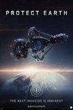 Ender's Game - Protect Earth Print