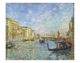Grand Canal, Venice, 1881 Prints by Pierre-Auguste Renoir