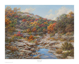 Autumn Creek Art by Larry Dyke