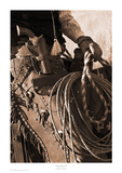 Range Rider III Sepia Posters par Robert Dawson