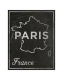 Paris, France Print by John W. Golden