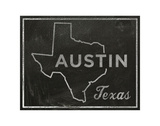 Austin, Texas Posters by John W. Golden