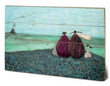 Sam Toft - The Same as it Ever Was Wood Sign Wood Sign