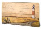 Sam Toft - A Day of Light Wood Sign Znak drewniany