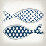 Fish Patterns II Posters by Tandi Venter