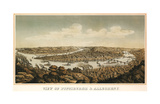 View of Pittsburgh & Allegheny, 1874 Giclee Print by  Krebs