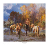 Waiting on the Sun Print by Martin Grelle