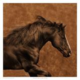Eastward Gallop Poster par Robert Dawson