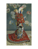 La Japonaise (Camille Monet in Japanese Costume), 1876 Poster by Claude Monet