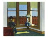 Room in Brooklyn, 1932 Schilderij van Edward Hopper