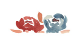Nouveau Boheme - Folk Art Series No. 4 Giclee Print by Kiana Mosley