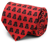 Star Wars - Darth Vader Red and Black Tie Novelty