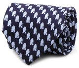 Star Wars - R2D2 Tonal Blue Tie Novelty