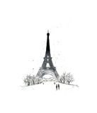 Paris Giclee Print by Jessica Durrant