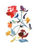 Nouveau Boheme - Folk Art Series No. 2 Giclee Print by Kiana Mosley
