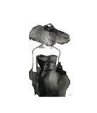 Dior Dame Reproduction procédé giclée par Jessica Durrant