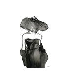 Dior Dame Giclee Print by Jessica Durrant
