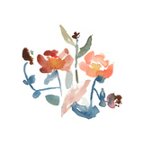 Nouveau Boheme No. 2 - Japanese Garden Series Giclee Print by Kiana Mosley